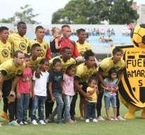 Fuerz Amarilla hizo la presentación de su nuevo uniforme para la temporada 2017.