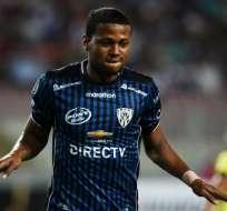 Michael Estrada convirtió el único gol del compromiso. Foto: AFP