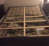 Las autoridades creen que los US$20 millones encontrados en la cama tienen que ver con Telexfree.