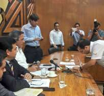 La invitación la hizo el prefecto Jimmy Jairala. Foto: Prefectura del Guayas