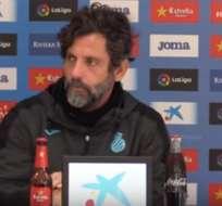 Quique Sánchez flores dio una rueda de prensa previo al duelo con el Sevilla. Foto: Captura de pantalla