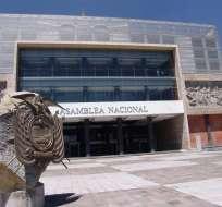 QUITO, Ecuador.- Los legisladores y personal administrativo retornarán a sus funciones el 20 de febrero. Foto: Archivo