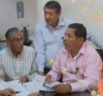 GUAYAQUIL, Ecuador.- Ecuavisa habló con un grupo de docentes afectados por mora de subvención. Foto: Captura.