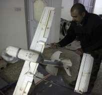 El grupo terrorista usa los aparatos para observar a los soldados iraquíes. Foto: AP