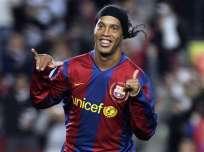 El jugador brasileño jugó en el cuadro español desde 2003 hasta el 2008. Foto: AP