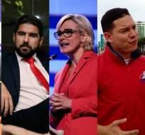 Políticos piden tomar acciones legales en contra de implicados señalados por Pareja Yannuzzelli. Foto: Collage.