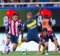 Chivas y Boca empataron 1-1 en los 90 minutos. El elenco mexicano se impuso en los penales.