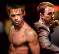 La película protagonizada por Edward Norton, Brad Pitt y Helena Bonham Carter. Foto: Internet