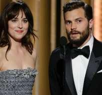 Dakota Johnson y Jamie Dornan portagonizan la segunda entrega de '50 Sombras de Grey'.
