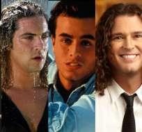 Ricky Martin, David Bisbal, Enrique Iglesias, Carlos Vives y Juanes lucian diferentes con el cabello largo. Foto: Collage.