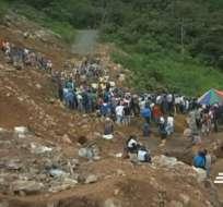 Mineros habrían pagado hasta $50 mil por volqueta de tierra extraída de una parroquia del cantón Mira.