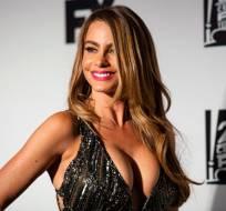 La polémica foto de Sofía Vergara, comparándose con Kim Kardashian, logró más de 250 mil Me Gusta. Foto: Agencias