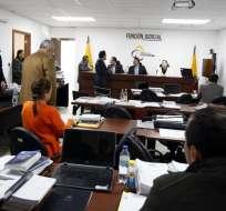 QUITO, Ecuador.- Este es el primero de los procesos del caso que llega a instancia de juicio con 18 acusados. Foto: API