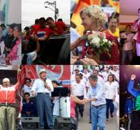 Los aspirantes a la Presidencia estarán en Guayas, Pichincha y Manabí.