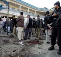 El atentado ocurrió en el sur del país cuando un hombre arrojó una granada.