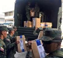 Las parroquias rurales de Quito han sido las últimas en recibir el material. Foto: CNE