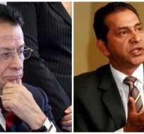 Tanto Zuquilanda como Gutiérrez indicaron que apoyarán al candidato de CREO en una eventual segunda vuelta. Foto: Referencial