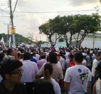 """GUAYAQUIL, Ecuador.- El alcalde de la ciudad convocó a varios gremios a una marcha para """"exigir una segunda vuelta"""". Foto: Redes sociales"""