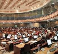 ECUADOR.- Hasta la noche del 22 de febrero, el CNE había escrutado 88.74% de actas legislativas. Foto: Archivo
