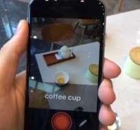 Solo se requiere la cámara de un smartphone para que funcione. Foto: Captura