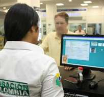 BOGOTÁ, Colombia.-El hombre no podrá ingresar al país en un lapso de 10 años como castigo por la infracción. Foto: Tomada de Blu Radio.
