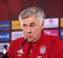 El italiano Carlo Ancelotti reconoció que fue un error haber reaccionado con un gesto ofensivo hacia los aficionados del Hertha.