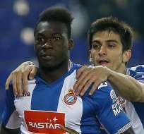 El ecuatoriano Felipe Caicedo deberá decidir si acepta o no una oferta del fútbol chino.