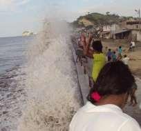 ECUADOR.- El Inocar informa las condiciones de oleaje y aguaje del 24 de febrero al 1 de marzo. Foto: Archivo