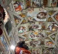 ITALIA.- El último estudio fotográfico exhaustivo registrado se remontaban a 20 años atrás. Foto: AFP