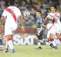 Argentina logró una importante victoria sobre Perú en el Sudamericano Sub 17.
