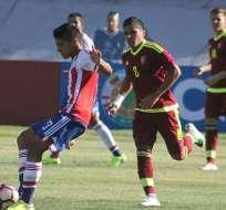 Paraguay logró rescatar un punto ante el combinado venezolano en el Sudamericano sub 17.