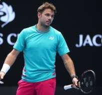 El suizo Stanislas Wawrinka fue eliminado en primera ronda del ATP de Dubái.