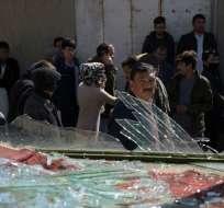 Las autoridades reportaron varios tiroteos y la explosión de un coche bomba en Kabul. Foto: AFP