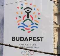 Budapest retiró su candidatura a organizar los Juegos Olímpicos de 2024.