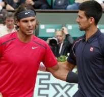 Rafael Nadal y Novak Djokovic superaron la primera ronda del torneo de Acapulco.
