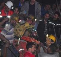 UCRANIA.- El presidente del sindicato sube la cifra a 11. Al momento de la explosión había 172 mineros. Foto referencial
