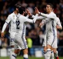 Cristiano Ronaldo marcó un doblete que le significó el empate al Real Madrid ante Las Palmas.