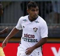 El volante ecuatoriano Junior Sornoza marcó un doblete en el triunfo del Fluminense.