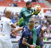 Liga de Quito e Independiente del Valle empataron 1-1 en el estadio Casa Blanca.