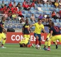La selección sub 17 de Ecuador enfrenta a Colombia en el primer partido del hexagonal del Sudamericano.