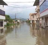 CHONE, Manabí.- Una de las más afectadas por las constantes lluvias es la provincia de Manabí. Foto: Archivo.