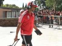 Arturo Mina estaba entrenado con el equipo de reservas de River Plate. Foto: Archivo