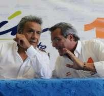 Moreno reiteró que dialogará permanentemente con diversos movimientos políticos. Foto: API