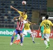 Paraguay reaccionó y le sacó un empate sobre el final a la selección de Brasil.