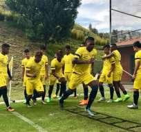 La selección sub 17 de Ecuador trabaja pensando en Paraguay, su próximo rival.