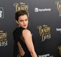 Emma Watson ya había sido amenazada por un hacker, quien dijo que mostraría fotos de ella sin ropa. Esto al final no ocurrió hasta hoy. Foto: AFP