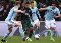 El Celta de Vigo venció 2-0 al Krasnodar en condición de visitante (4-1 en el global). Foto: AFP