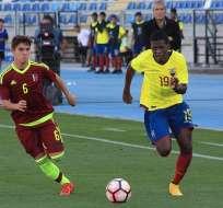 La 'MiniTri' solo consiguió un punto en el hexagonal del Sudamericano Sub 17.