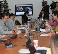 QUITO, Ecuador.- Para el miércoles está prevista la comparecencia del contralor y de funcionarios del CNE y de Participación Ciudadana. Foto: Asamblea Nacional