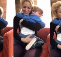 Después de tantos rumores, conmovió a todos con video con su hijo.